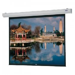 "Da-Lite - 89718 - Da-Lite Designer Contour Electrol Projection Screen - 70"" x 70"" - Matte White - 99"" Diagonal"