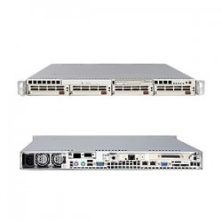 Supermicro - AS-1020A-T - Supermicro A+ Server 1020A-T Barebone System - AMD 8132 - Socket 940 - Opteron (Dual-core) - 1000MHz Bus Speed - 32GB Memory Support - CD-Reader (CD-ROM) - Gigabit Ethernet - 1U Rack