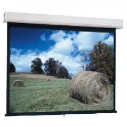 "Da-Lite - 92702 - Da-Lite Advantage Manual With CSR Manual Wall and Ceiling Projection Screen - 60"" x 80"" - High Contrast Matte White - 100"" Diagonal"