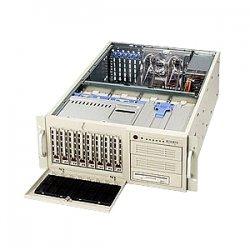 Supermicro - SYS-7044H-32R - Supermicro SuperServer 7044H-32R Barebone System - Intel E7520 - Socket 604, Socket 604, Socket 604 - Xeon), Xeon LV), Xeon (Dual-core) - 800MHz Bus Speed - 16GB Memory Support - Gigabit Ethernet - 4U Tower