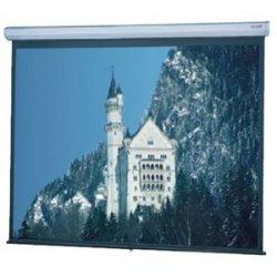 "Da-Lite - 94364 - Da-Lite Model C Manual Wall and Ceiling Projection Screen - 54"" x 96"" - Matte White - 110"" Diagonal"