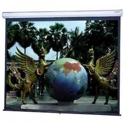 Da-Lite - 79862 - Da-Lite Model C With CSR Manual Wall and Ceiling Projection Screen - 96 x 96 - Matte White - 136 Diagonal