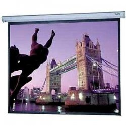 """Da-Lite - 40823 - Da-Lite Cosmopolitan Electrol Projection Screen - 144"""" x 144"""" - Matte White - 203"""" Diagonal"""