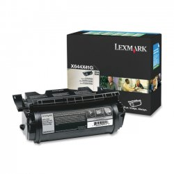 Lexmark - X644X41G - Lexmark Extra High Yield Return Program Black Toner Cartridge - Black - Laser