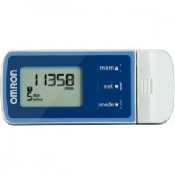 Omron - HJ-324U - Omron Tri-Axis USB Pedometer With Five Activity Modes And Web Solution - HJ-324U - 22 Reading(s) - 99999 Step(s)