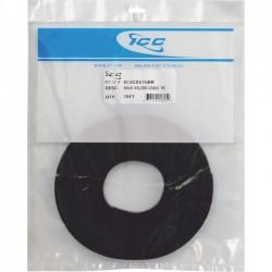 "ICC - ICACSVBTBK - ICC Velcro Brand Cable Tie, 12"", Black, 100Pack - Cable Tie - Black - 100 Pack - Nylon, Polyethylene"