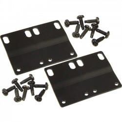 ICC - ICCMSCBBRC - ICC Mounting Bracket for Patch Panel, Cable Manager, Network Equipment - Black Powder Coat