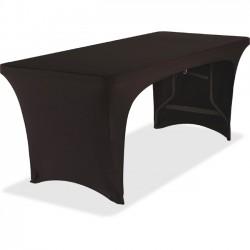 Iceberg - 16541 - Iceberg Open Stretchable Table Cover - 1 Each - Fabricel - Black