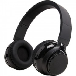 GPX - IAHB284B - iLive Bluetooth Stereo Headphones and Portable Speaker System - Stereo - Black - Mini-phone - Wired/Wireless - Bluetooth - 33 ft - 32 Ohm - Over-the-head - Binaural - Circumaural