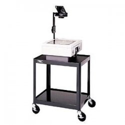 Da-Lite - 4505 - Da-Lite AV2-42 PIXMobile Pre-Assembled Projection Cart - 2 x Shelf(ves) - 42 Height x 24 Width x 18 Depth