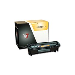 V7 - V712AG - Black Toner Cartridge For HP LaserJet 1010, 1012, 1015, 1018, 1020, 1022, 102