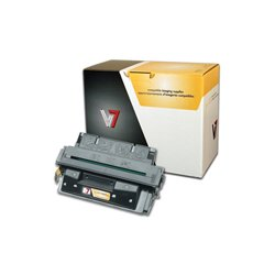V7 - V727XG - V7 Black High Yield Toner Cartridge for HP LaserJet - Laser - High Yield - 10000 Page