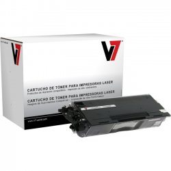 V7 - V7TN460G - V7 Black High Yield Toner Cartridge for Brother - Laser - High Yield - 6000 Pages