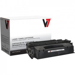 V7 - V749X - V7 Black High Yield Toner Cartridge for HP LaserJet - Laser - High Yield - 6000 Pages