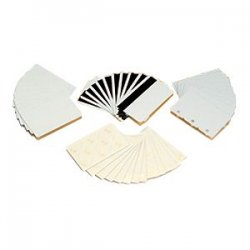 Zebra Technologies - 104524-104 - Zebra Premier Plus Composite PVC Card - White