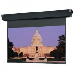 "Da-Lite - 94263 - Da-Lite Tensioned Dual Masking Electrol Projection Screen - 54"" x 96"" - Cinema Vision"
