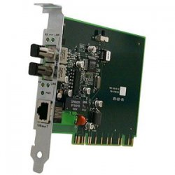Transition Networks - E-TBT-FRL-NLP-02(SC) - Transition Networks Ethernet PCI Media Converter - 1 x RJ-45 , 1 x SC Duplex - 10Base-T, 10Base-FL