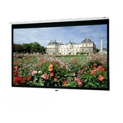 "Da-Lite - 40230 - Da-Lite Deluxe Model B Manual Wall and Ceiling Projection Screen - 70"" x 70"" - Matte White - 99"" Diagonal"