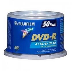 Fujifilm - 600004139 - Fujifilm 16x DVD-R Media - 4.7GB - 120mm Standard - 50 Pack Spindle