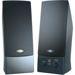 Cyber Acoustics - CA-2011WB - Cyber Acoustics CA-2011WB 2.0 Speaker System - 4 W RMS - Black - 85 Hz - 18 kHz