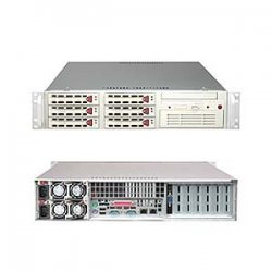 Supermicro - SYS-6024H-32RB - Supermicro SuperServer 6024H-32R Barebone System - Intel E7520 - Socket 604 - Xeon (Dual-core), Xeon), Xeon LV) - 800MHz Bus Speed - 16GB Memory Support - CD-Reader (CD-ROM) - Gigabit Ethernet - 2U Rack