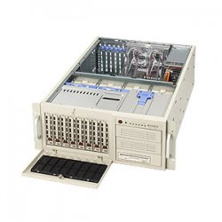 Supermicro - SYS-7044H-82 - Supermicro SuperServer 7044H-82 Barebone System - Intel E7520 - Socket 604, Socket 604 - Xeon, Xeon LV - 800MHz Bus Speed - 16GB Memory Support - Gigabit Ethernet - 4U Tower