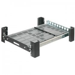 "Rack Solution - 2USHL-130 - Innovation 28"" Heavy Duty Sliding Rack Mount Shelf - 235lb"