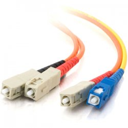 C2G (Cables To Go) - 26998 - C2G 5m SC/SC 62.5/125 Mode-Conditioning Fiber Patch Cable - Orange - SC Male - SC Male - 16.4ft - Orange