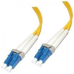 C2G (Cables To Go) - 29191 - 1m LC-LC 9/125 OS2 Duplex Single-Mode PVC Fiber Optic Cable - Yellow - Fiber Optic for Network Device - LC Male - LC Male - 9/125 - Duplex Single-Mode - OS2 - 1m - Yellow