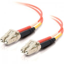 C2G (Cables To Go) - 33035 - 9m LC-LC 50/125 OM2 Duplex Multimode PVC Fiber Optic Cable - Orange - Fiber Optic for Network Device - LC Male - LC Male - 50/125 - Duplex Multimode - OM2 - 9m - Orange