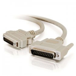 C2G (Cables To Go) - 06098 - C2G 30ft IEEE-1284 DB25 Male to MicroCentronics 36 Male Parallel Printer Cable - DB-25 Male Parallel - mini-Centronics Male Parallel - 30ft - Beige