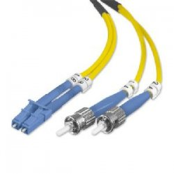 Belkin / Linksys - F2F802L0-05M - Belkin - Patch cable - LC/PC single-mode (M) to ST/PC single-mode (M) - 16.4 ft - fiber optic - 8.3 / 125 micron - OS1 - yellow - B2B
