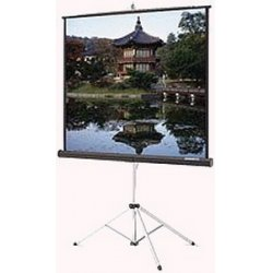 "Da-Lite - 86017 - Da-Lite Picture King Portable and Tripod Projection Screen - 45"" x 80"" - Matte White - 92"" Diagonal"