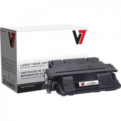 V7 - V761A - Black Toner Cartridge For HP LaserJet 4100, 4100N, 4100DTN, 4100T, 4100TN, 41