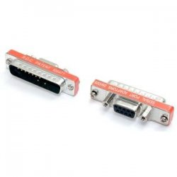 StarTech - AT925SFM - StarTech.com Slimline DB9 to DB25 Cable Adapter F/M - 1 x DB-9 Female - 1 x DB-25 Male