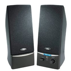 Cyber Acoustics - CA-2014WB - Cyber Acoustics CA-2014 2.0 Speaker System - 4 W RMS - Black