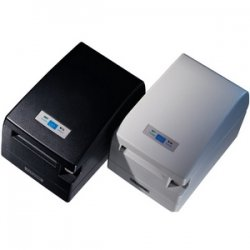 Citizen - CT-S2000RSU-BK - Citizen CT-S2000 Receipt Printer - Color - 220 mm/s Mono - 203 dpi - USB, Serial