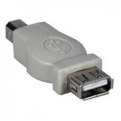 QVS - CC2209-FM - QVS USB Adapter - 1 x Type A Female USB - 1 x Type B Male USB