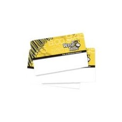 Wasp Barcode - 633808550691 - Wasp Employee Time Card - Magnetic Stripe Card - 50 - Pack