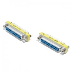 StarTech - GC25SF - StarTech.com DB25 Slimline Gender Changer Female to Female - Cable Adapter - 1 x DB-25 Female - 1 x DB-25 Female