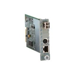 Omnitron - 7006-0-Z - Fast Ethernet SFP Module LC Multimode 5km Industrial Temp - 1 x 100BASE-FX Fiber Optical Transceiver