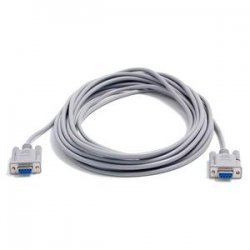 StarTech - SCNM9FF25 - StarTech.com 25 ft Cross Wired DB9 Serial Null Modem Cable - F/F - DB-9 Female - DB-9 Female - 25ft