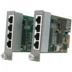 Omnitron - 8481-4 - Omnitron Systems 4Tx VT 4-Port Fast Ethernet VLAN Switching Module - 4 x 10/100Base-TX