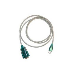 Unitech Electronics - PW201-2 - Unitech RS232 to USB Adapter Cable - Type A Male Serial, DB-9 Male USB - 6ft