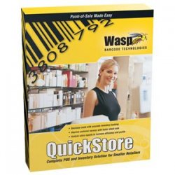 Wasp Barcode - 633808471293 - Wasp QuickStore POS Enterprise Edition - Product Upgrade Package - 1 User - Financial Management - Standard - Retail - PC
