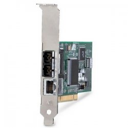 Allied Telesis - AT-2701FTX/MT-901 - Allied Telesis AT-2701 10/100-Tx Network Adapter - PCI - 1 x RJ-45 , 1 x MT-RJ - 10/100Base-TX, 100Base-FX