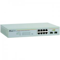 Allied Telesis - AT-GS950/8-10 - Allied Telesis WebSmart AT-GS950/8-10 Gigabit Ethernet Switch - 8 x 10/100/1000Base-T