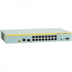 Allied Telesis - AT-8000S/16-10 - Allied Telesis AT-8000S/16-10 Managed Ethernet Switch - 16 x 10/100Base-TX, 1 x 10/100/1000Base-T