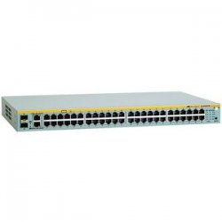 Allied Telesis - AT-8000S/48-10 - Allied Telesis AT-8000S/48 Managed Ethernet Switch - 48 x 10/100Base-TX, 2 x 10/100/1000Base-T, 2 x