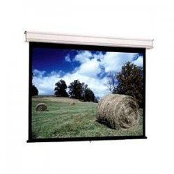 "Da-Lite - 85713 - Da-Lite Advantage Manual With CSR Manual Ceiling Projection Screen - 69"" x 92"" - Matte White - 120"" Diagonal"